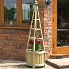 Rowlinson Marberry Obelisk Planter