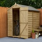Hartwood 4' x 6' Windowless Overlap Pressure Treated Apex Shed