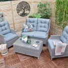 Oren Athens 4 Seater Sofa Set