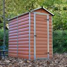 Palram 4' x 6' Skylight Plastic Amber Shed