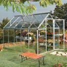 Palram 6' x 10' Harmony Silver Polycarbonate Greenhouse