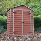Palram 6' x 3' Skylight Plastic Amber Shed