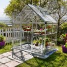 Palram 6' x 4' Harmony Silver Polycarbonate Greenhouse