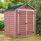 Palram 6' x 5' Skylight Plastic Amber Shed