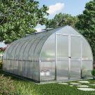 Palram 8' x 16' Bella Silver Polycarbonate Greenhouse