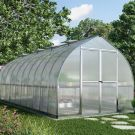 Palram 8' x 20' Bella Silver Polycarbonate Greenhouse