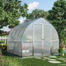 Palram 8' x 8' Bella Silver Polycarbonate Greenhouse