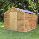Adley 8' x 10' Windowless Double Door Overlap Apex Shed