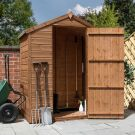 Adley 5' x 3' Windowless Pressure Treated Shiplap Apex Shed