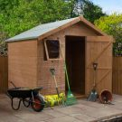Adley 8' x 6' Premium Pressure Treated Shiplap Apex Shed