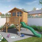Adley Jellytot Cottage Tower Playhouse & Slide