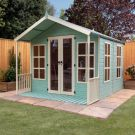 Adley 8' x 10' Premium Traditional Summer House With Veranda