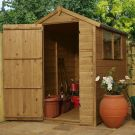Adley 4' x 6' Pressure Treated Shiplap Apex Shed