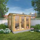 Adley 3m x 2.5m Dorset Log Cabin