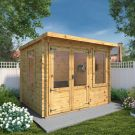 Adley 3m x 2.4m Hereford Log Cabin