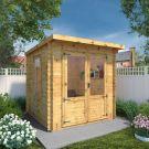Adley 2.4m x 2.4m Hereford Log Cabin