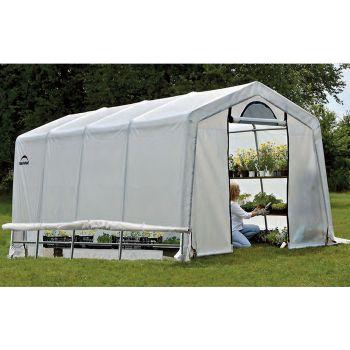 Shelter Logic 10' x 10' Peak Style Portable Greenhouse