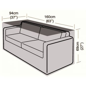 Cover Up - 2 Seater Large Sofa Cover - 160cm