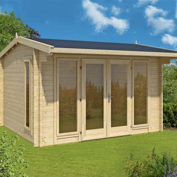 Greenway 3.5m x 3m Charnwood Log Cabin