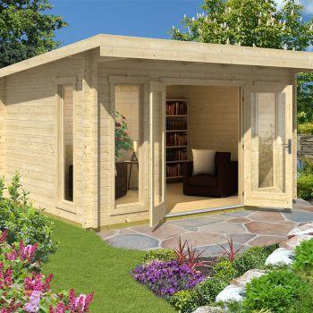 Greenway 4m x 3.1m Carrick Log Cabin