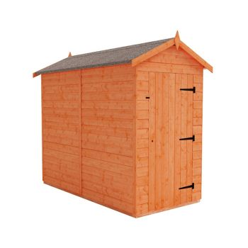 Redlands 4' x 8' Windowless Shiplap Modular Apex Shed