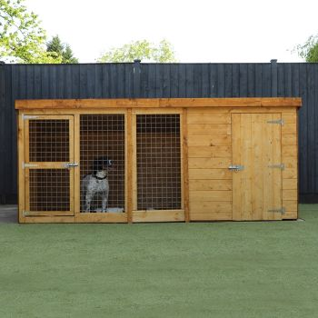 Adley 10 x 4 Dog Kennel & Run