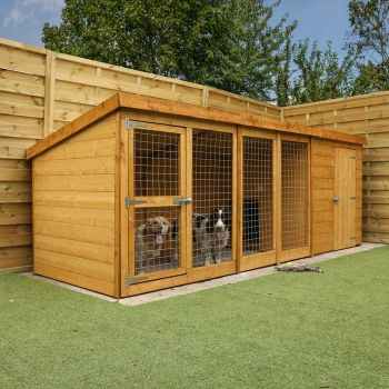 Adley 12 x 4 Dog Kennel & Run