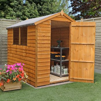Adley 5' x 7' Overlap Apex Shed