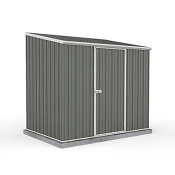 Adley 7' x 5' Grey Titanium Pent Metal Shed