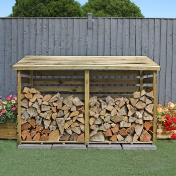 Adley Pressure Treated Large Log Store