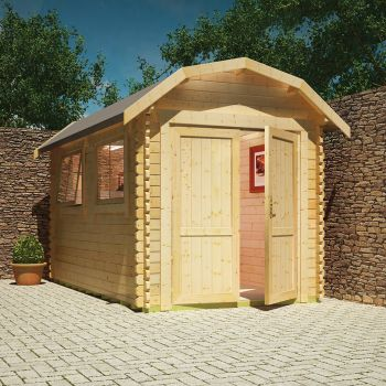 Redlands 2.4m x 4.2m Atlanta Log Cabin