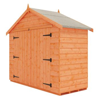 Redlands 7' x 4' Shiplap Apex Bike Shed