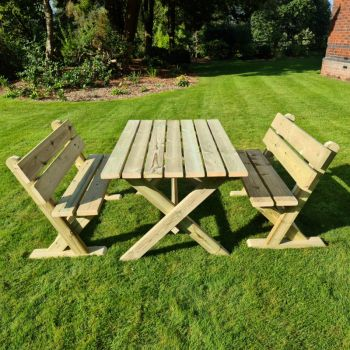 Moorvalley 4 Seater Cheddleton Dining Set