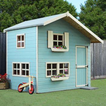 Adley 8' x 6' Jellytot Manor Two Storey Playhouse