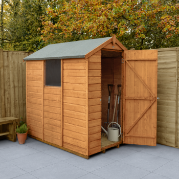 Hartwood 4' x 6' Shiplap Apex Shed