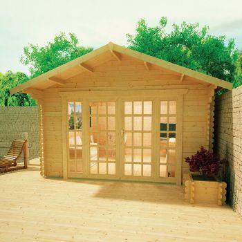 Redlands 4.2m x 4.2m St George Log Cabin
