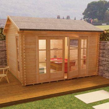 Redlands 4.2m x 3.6m St Annes Log Cabin