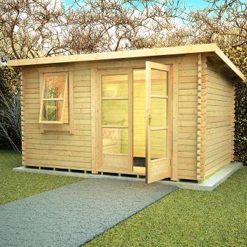 Redlands 4.2m x 3m Medinah Log Cabin