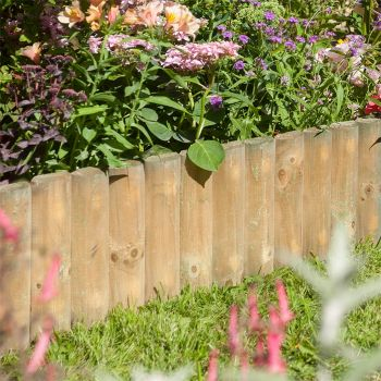 """Rowlinson 6"""" Border Fence 1m - Pack of 2"""