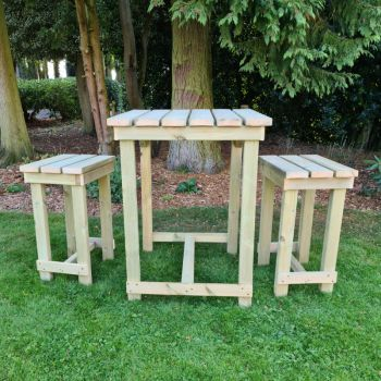 Moorvalley 2 Seater Beer Garden Bar Set
