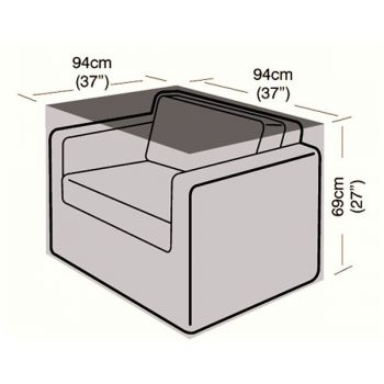 Cover Up - Large Armchair Cover - 94cm