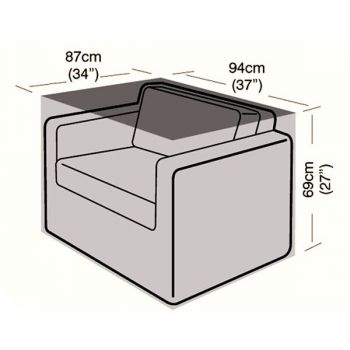 Cover Up - Small Armchair Cover - 87cm