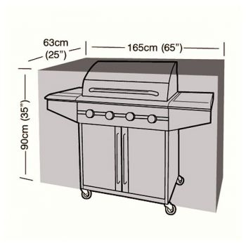 Cover Up - Extra Large Classic Barbecue Cover - 165cm