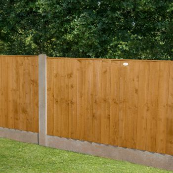 Hartwood 4' x 6' Feather Edge Fence Panel