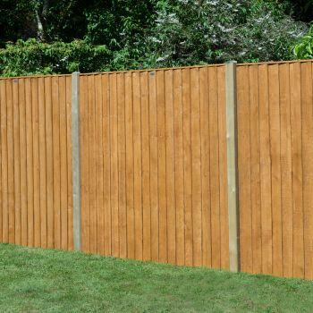 Hartwood 5' x 6' Feather Edge Fence Panel