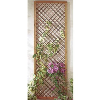 Hartwood 6' x 2' Framed Willow Trellis