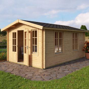 Greenway 3m x 4.8m Arden Log Cabin