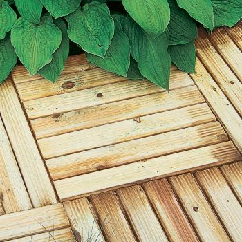 Hartwood 50cm Deck Tiles