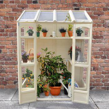 Hartwood 5' x 2' Victorian Tall Wall Greenhouse
