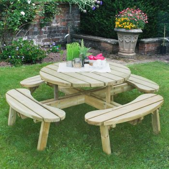 Hartwood Circular Picnic Table